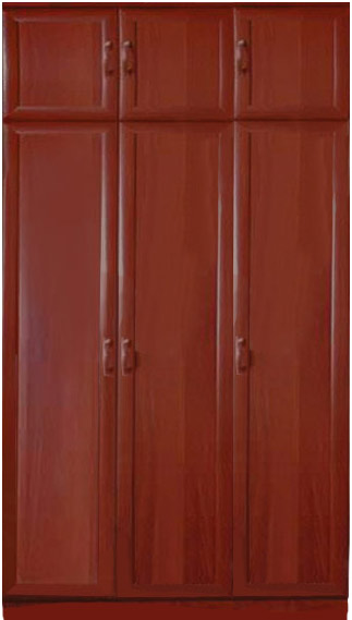 Шкаф мдф 3-х дверный с антресолью - купить дешево от произво.
