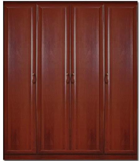 Шкаф мдф 4-х дверный - купить дешево от производителя! катал.